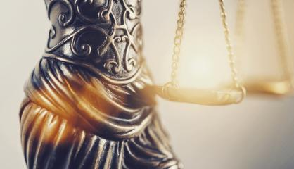 The Statue of Justice  - lady justice or Iustitia / Justitia the Roman goddess of Justice detail of scales of justice - Stock Photo or Stock Video of rcfotostock | RC-Photo-Stock