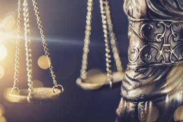 The Statue of Justice  - lady justice or Iustitia / Justitia the Roman goddess of Justice detail of scales of justice - Stock Photo or Stock Video of rcfotostock   RC-Photo-Stock