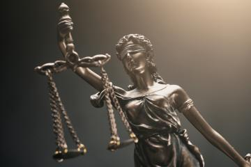 The Statue of Justice - Justitia the Roman goddess of Justice- Stock Photo or Stock Video of rcfotostock | RC-Photo-Stock