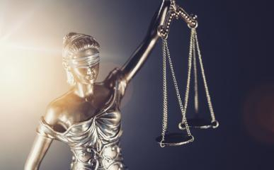 The Statue of Justice - lady justice or Iustitia / Justitia the Roman goddess of Justice- Stock Photo or Stock Video of rcfotostock   RC-Photo-Stock