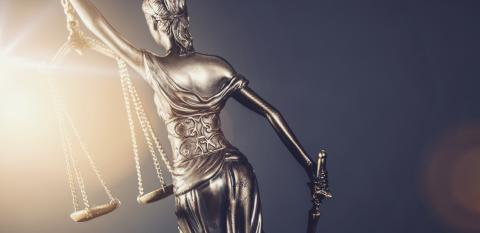 The Statue of Justice - lady justice or Iustitia / Justitia the Roman goddess of Justice - legal law concept image- Stock Photo or Stock Video of rcfotostock   RC-Photo-Stock