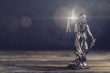 The Statue of Justice - lady justice or Iustitia / Justitia the Roman goddess of Justice - legal law concept image- Stock Photo or Stock Video of rcfotostock | RC-Photo-Stock