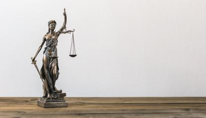 The Statue of Justice - lady justice or Iustitia / Justitia the Roman goddess of Justice, including copy space : Stock Photo or Stock Video Download rcfotostock photos, images and assets rcfotostock | RC-Photo-Stock.: