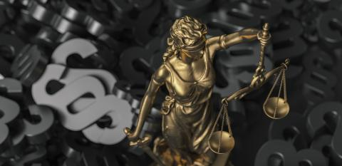 The Statue of Justice symbol, legal law concept image with black paragraphs : Stock Photo or Stock Video Download rcfotostock photos, images and assets rcfotostock | RC-Photo-Stock.: