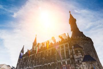 the town hall of aachen in germany- Stock Photo or Stock Video of rcfotostock | RC-Photo-Stock