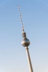 The TV Tower located on the Alexanderplatz in Berlin, Germany- Stock Photo or Stock Video of rcfotostock | RC-Photo-Stock