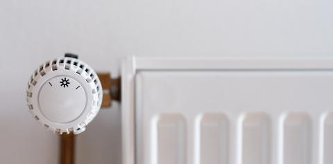 thermostatic radiator valve set to low temperature on a white wall, with copyspace for your individual text. : Stock Photo or Stock Video Download rcfotostock photos, images and assets rcfotostock   RC-Photo-Stock.: