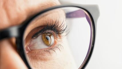 Thoughtful Female eye with glasses : Stock Photo or Stock Video Download rcfotostock photos, images and assets rcfotostock | RC-Photo-Stock.:
