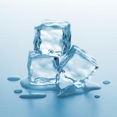 three melting ice cube- Stock Photo or Stock Video of rcfotostock | RC-Photo-Stock