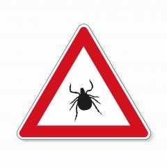 Tick warning or attention. danger or Danger zone of ticks, prohibition sign,  on transparent background. Vector illustration. Eps 10 vector file.- Stock Photo or Stock Video of rcfotostock | RC-Photo-Stock