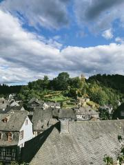 tiny old village near aachen, germany called monschau : Stock Photo or Stock Video Download rcfotostock photos, images and assets rcfotostock | RC-Photo-Stock.: