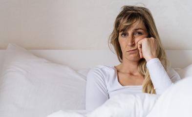 Tired woman Sitting in bed can't sleep early morning  with insomnia. European girl with funny face sick or sad depressed sleeping or boring at home. : Stock Photo or Stock Video Download rcfotostock photos, images and assets rcfotostock | RC-Photo-Stock.: