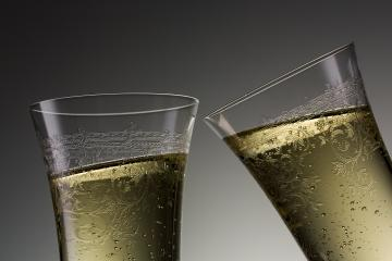 toast on new year with champagne - Stock Photo or Stock Video of rcfotostock | RC-Photo-Stock