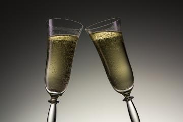 toast with two champagne glasses on new year's eve- Stock Photo or Stock Video of rcfotostock   RC-Photo-Stock