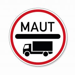 toll obligation for trucks. German traffic sign at a road with toll for heavy trucks on white background. Vector illustration. Eps 10 vector file. : Stock Photo or Stock Video Download rcfotostock photos, images and assets rcfotostock | RC-Photo-Stock.: