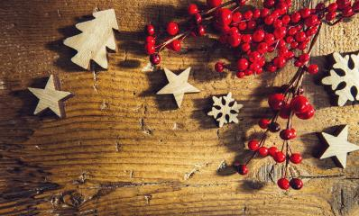 top view on arranged christmas and winter decorated table, including copy space : Stock Photo or Stock Video Download rcfotostock photos, images and assets rcfotostock | RC-Photo-Stock.: