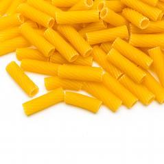 Tortiglioni Noodles isolated on white- Stock Photo or Stock Video of rcfotostock | RC-Photo-Stock