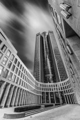 Tower 187, Schwarzweiss, Frankfurt, Langzeitbelichtung : Stock Photo or Stock Video Download rcfotostock photos, images and assets rcfotostock | RC-Photo-Stock.: