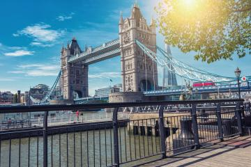 Tower Bridge at summer in London, UK- Stock Photo or Stock Video of rcfotostock | RC-Photo-Stock