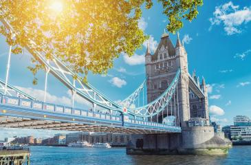 Tower Bridge in London in a beautiful summer day, England, United Kingdom- Stock Photo or Stock Video of rcfotostock | RC-Photo-Stock