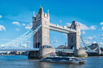 Tower Bridge on River Thames London UK- Stock Photo or Stock Video of rcfotostock | RC-Photo-Stock