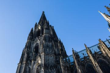 Tower of the cologne cathedral at summer- Stock Photo or Stock Video of rcfotostock | RC-Photo-Stock
