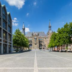 Town Hall Aachen South facade : Stock Photo or Stock Video Download rcfotostock photos, images and assets rcfotostock | RC-Photo-Stock.:
