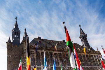 town hall of aachen- Stock Photo or Stock Video of rcfotostock | RC-Photo-Stock
