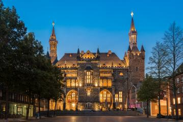 town hall of aachen, germany- Stock Photo or Stock Video of rcfotostock | RC-Photo-Stock