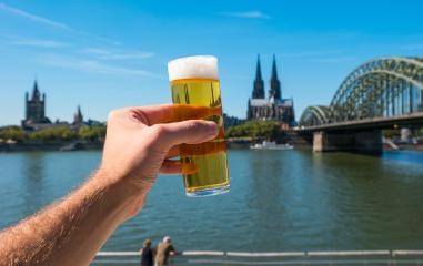 Tra­di­tio­nal beer (koelsch) from Cologne Germany- Stock Photo or Stock Video of rcfotostock | RC-Photo-Stock