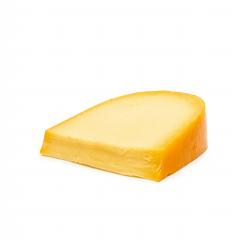traditional Gouda cheese piece on a white background- Stock Photo or Stock Video of rcfotostock | RC-Photo-Stock
