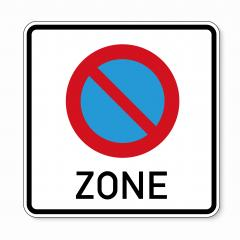 traffic sign bicycle area. German sign at a bicycle zone on white background. Vector illustration. Eps 10 vector file.- Stock Photo or Stock Video of rcfotostock | RC-Photo-Stock