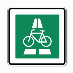 traffic sign Cycle expressway. German sign for express bicycles on this way on white background. Vector illustration. Eps 10 vector file.- Stock Photo or Stock Video of rcfotostock | RC-Photo-Stock
