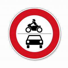 traffic sign forbidden entrance car and motorcycle. German traffic sign (prohibition of traffic): ban on motorcycles and motor vehicles on white background. Vector illustration. Eps 10 vector file. : Stock Photo or Stock Video Download rcfotostock photos, images and assets rcfotostock | RC-Photo-Stock.: