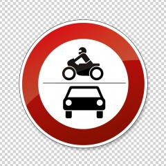 traffic sign forbidden entrance car and motorcycle. German traffic sign (prohibition of traffic): ban on motorcycles and motor vehicles on checked transparent background. Vector illustration. Eps 10. : Stock Photo or Stock Video Download rcfotostock photos, images and assets rcfotostock | RC-Photo-Stock.: