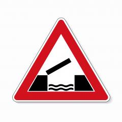 traffic sign no passing. German traffic sign warning about likeliness of traffic queues on white background. Vector illustration. Eps 10 vector file.- Stock Photo or Stock Video of rcfotostock | RC-Photo-Stock