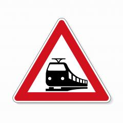 traffic sign no passing. German traffic sign warning about likeliness of traffic queues on white background. Vector illustration. Eps 10 vector file. : Stock Photo or Stock Video Download rcfotostock photos, images and assets rcfotostock   RC-Photo-Stock.: