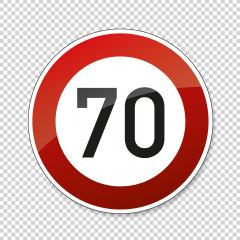 traffic sign speed limit thirty. German traffic sign restricting speed to 30 kilometers per hour on checked transparent background. Vector illustration. Eps 10 vector file. : Stock Photo or Stock Video Download rcfotostock photos, images and assets rcfotostock | RC-Photo-Stock.: