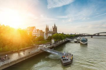 travel to cologne in germany at summer- Stock Photo or Stock Video of rcfotostock | RC-Photo-Stock