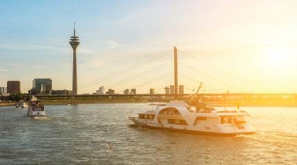 travel to Duesseldorf at summer in germany- Stock Photo or Stock Video of rcfotostock | RC-Photo-Stock