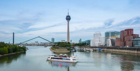 travel to the media harbor in Dusseldorf germany- Stock Photo or Stock Video of rcfotostock | RC-Photo-Stock