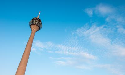 Tv Tower Dusseldorf- Stock Photo or Stock Video of rcfotostock | RC-Photo-Stock