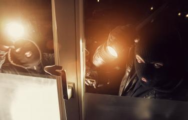 Two Burglar breaking in a window of a house at night : Stock Photo or Stock Video Download rcfotostock photos, images and assets rcfotostock | RC-Photo-Stock.: