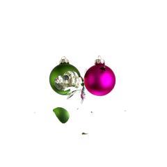 Two christmas balls collide- Stock Photo or Stock Video of rcfotostock | RC-Photo-Stock