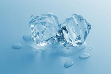 two melting ice cubes- Stock Photo or Stock Video of rcfotostock | RC-Photo-Stock