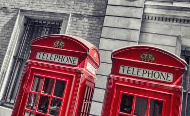 typical red telephone booths in London- Stock Photo or Stock Video of rcfotostock | RC-Photo-Stock