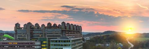 university hospital aachen at sunset : Stock Photo or Stock Video Download rcfotostock photos, images and assets rcfotostock | RC-Photo-Stock.: