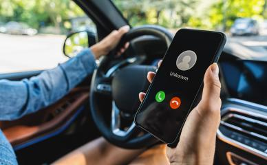 Unknown number calling while car driving. Phone call from stranger. Person holding mobile and smartphone in livingroom late. Unexpected call disturbs at car ride. : Stock Photo or Stock Video Download rcfotostock photos, images and assets rcfotostock | RC-Photo-Stock.: