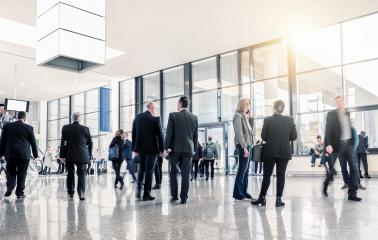 unrecognizable business people at a airport hall- Stock Photo or Stock Video of rcfotostock | RC-Photo-Stock