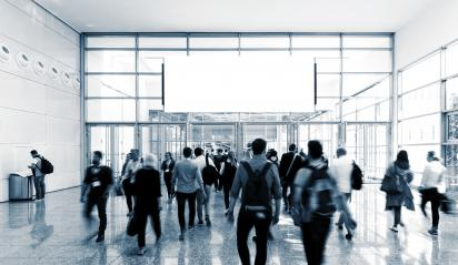 unrecognizable business people walking at a airport hall- Stock Photo or Stock Video of rcfotostock | RC-Photo-Stock